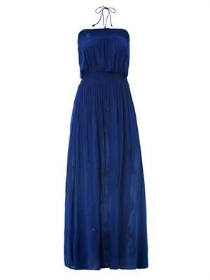 Harper halter strap maxi dress