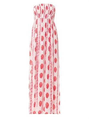 Pamela bandeau maxi dress