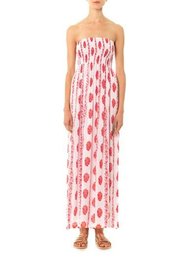 Cool Change Pamela bandeau maxi dress
