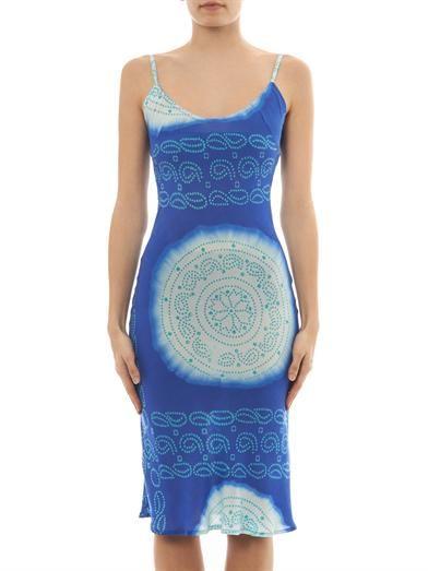 Cool Change Kate Rajasthan spot-print dress