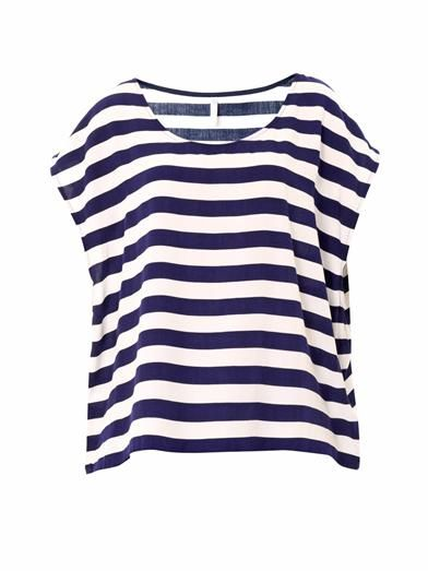 Cool Change Boat striped oversized top