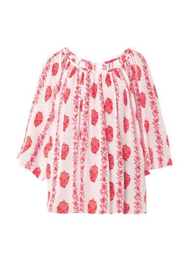 Cool Change Stella floral-print cover-up