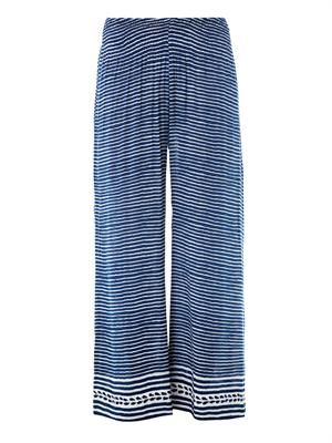 Biasa Stripe resort trousers