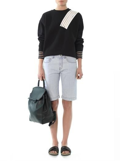 Christopher Kane Denim Bermuda shorts