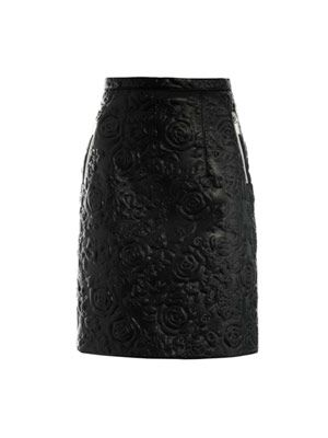 Rosa leather skirt