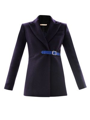 Wool riding coat