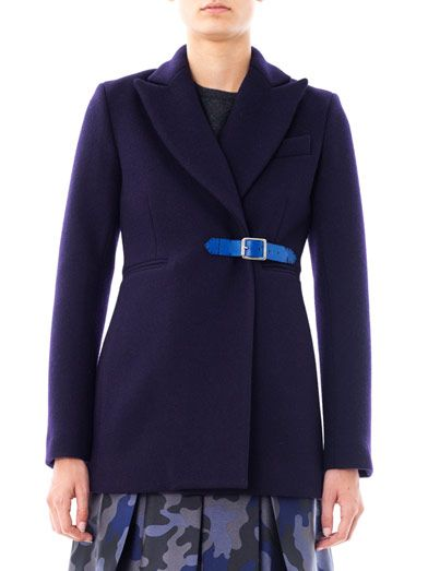Christopher Kane Wool riding coat