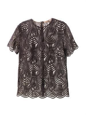 Clef lace T-shirt