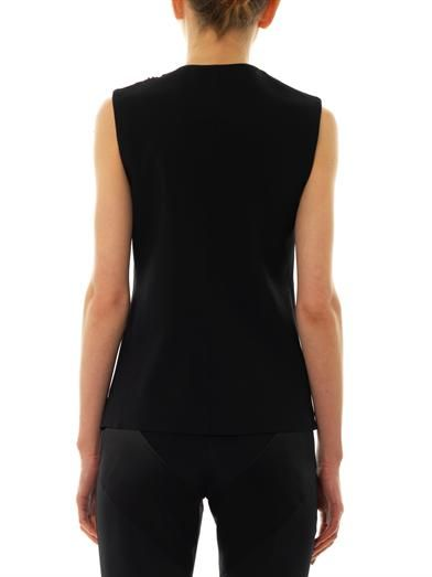 Christopher Kane Zip-front sleeveless top