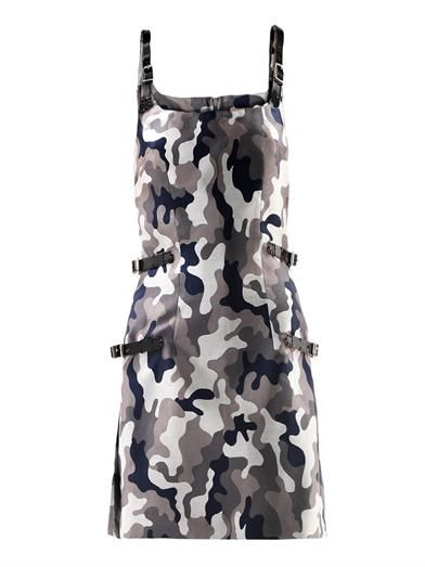 Christopher Kane Camo-print buckle  dress