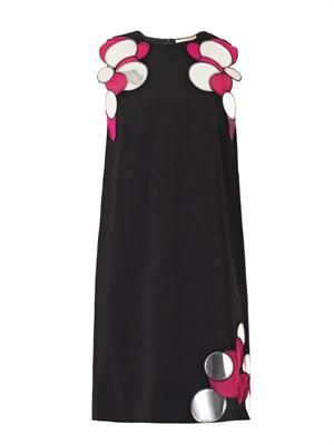 Molecule-embellished dress