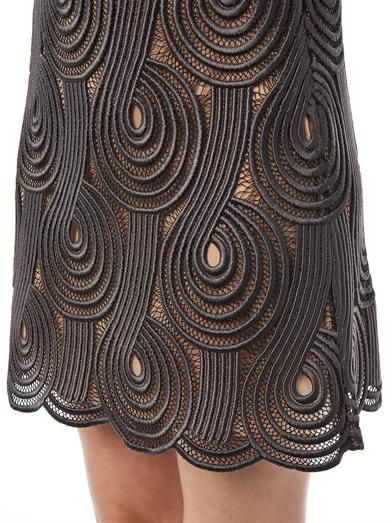 Christopher Kane Clef lace mini skirt