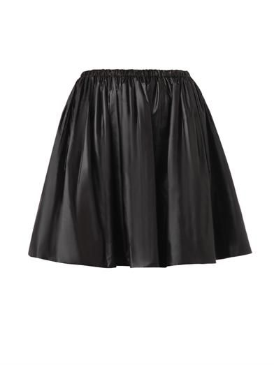 Christopher Kane Ruched nylon skirt