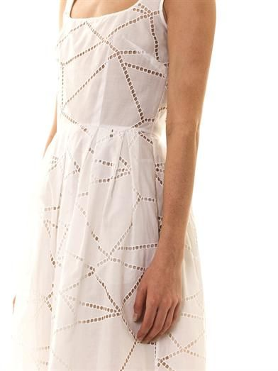 Christopher Kane Broderie anglaise cotton dress