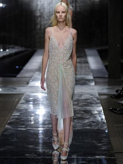 Christopher Kane Crocodile-clip lace dress