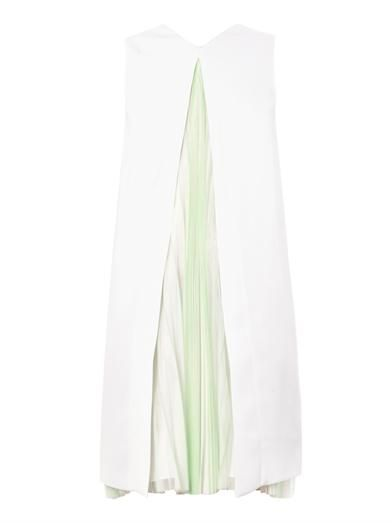 Christopher Kane Pleat-insert shift dress