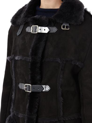 Christopher Kane Long shearling coat