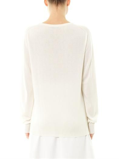 Christopher Kane Oxygen cashmere sweater