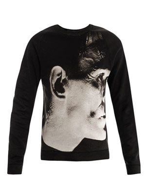 Frankenstein print sweat top
