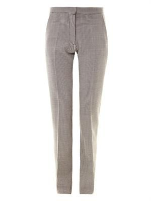 Puppytooth tailored trousers
