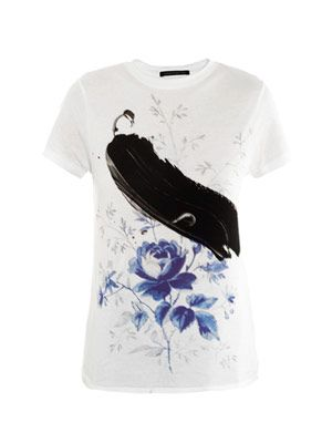 Dutch-print T-shirt