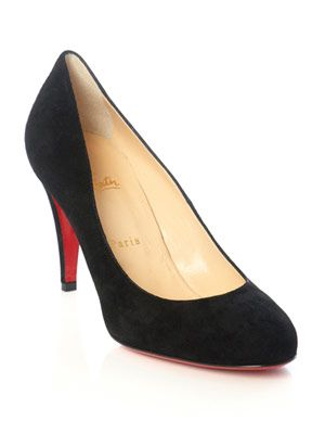 Ron Ron 85mm suede pumps