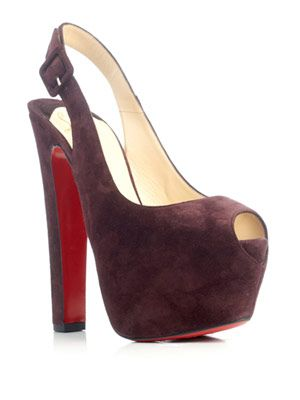 Tartarina 160mm suede pumps