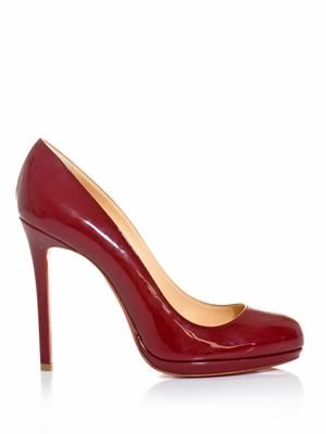 Neofilo 120mm patent leather pumps
