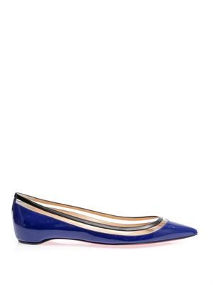 Paulina leather flats