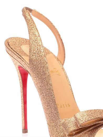 Christian Louboutin Space Noeud 100mm sandals