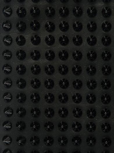 Christian Louboutin Loubiposh spike leather  clutch