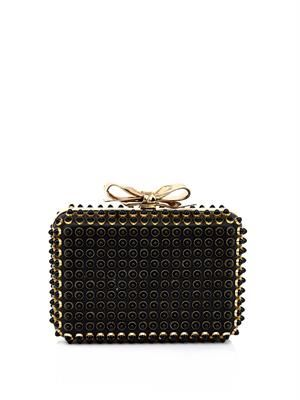 Fiocco embellished box clutch