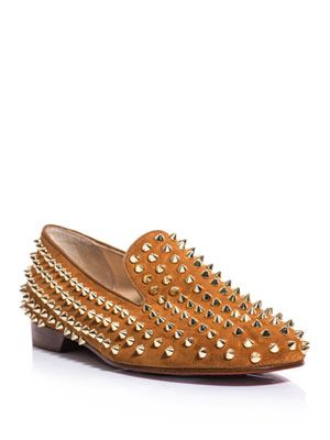 The rolling studded slippers