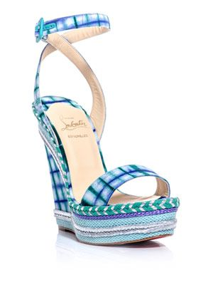 Duplice 140mm wedge sandals