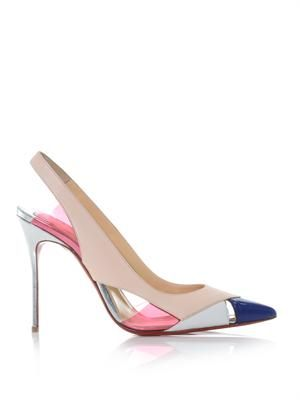 Air Chance 100mm slingback pumps