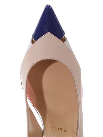 Christian Louboutin Air Chance 100mm slingback pumps