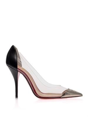 Djalouzi 100mm point toe pumps