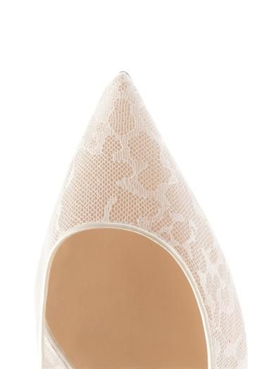 Christian Louboutin Pigalle 100mm lace pumps
