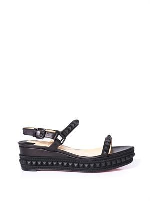 Cata Clou wedge sandals