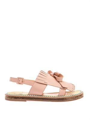 Costa Nada fringe-front sandals