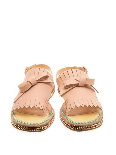 Christian Louboutin Costa Nada fringe-front sandals