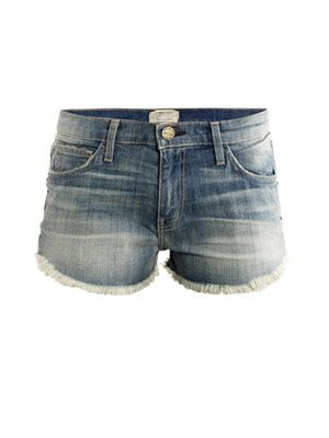 Panhandle denim shorts