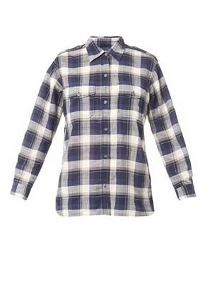 The Perfect check-print shirt
