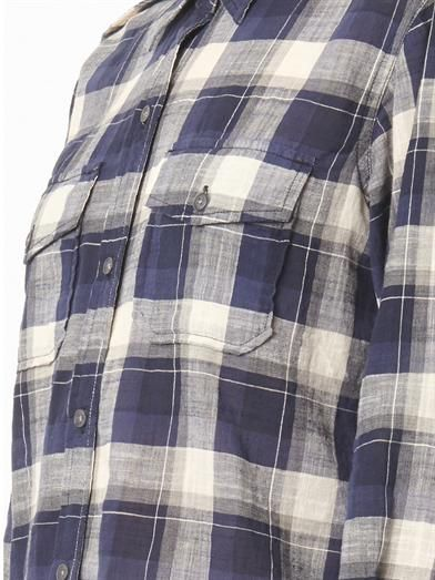 Current/Elliott The Perfect check-print shirt