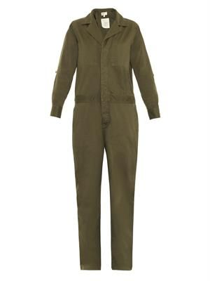 The Mechanic cotton jumpsuit