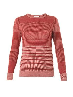 The Jacquard sweater