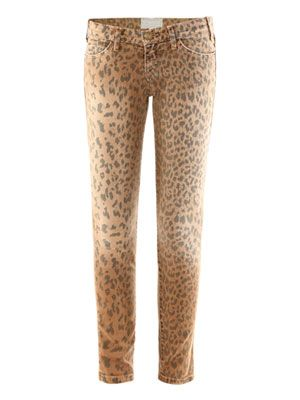 Stiletto low mid-rise skinny jeans