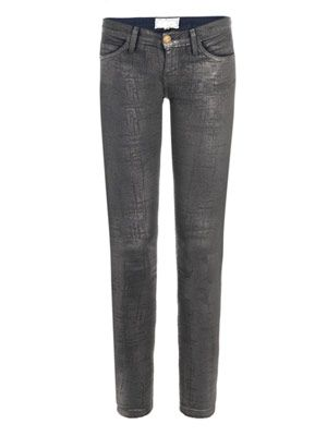 Stiletto low-rise skinny jeans