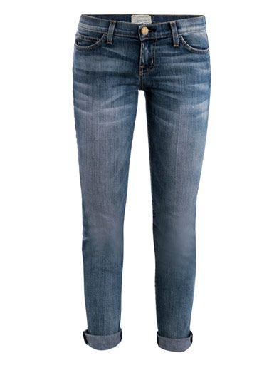 Current/Elliott Bleeker mid-rise skinny jeans