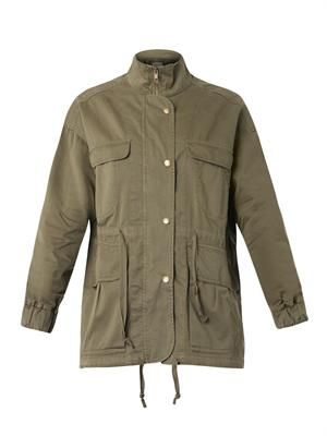 The Leisure cotton parka